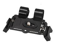 Metal with Nylon Hasp Bicycle Motor Bike Support Holder Video Bracket Mount Tripod for DSLR Camera Mini DV Camcorder Fla