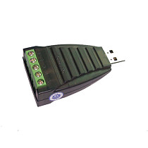 HighTek HU-107 Industrial UDB to RS485 Serial Adapter with Lightning Protection