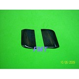 1Pairs Black Carbon Flybar Paddle For All T-rex 450