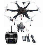 Assembled HMF S550 F550 Upgrade RTF Kit with Landing Gear & APM 2.8 Flight Controller GPS Compass & Gimbal