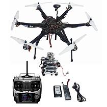 Assembled HMF S550 F550 Upgrade RTF Kit with Landing Gear & APM 2.8 Flight Controller GPS Compass & Gimbal