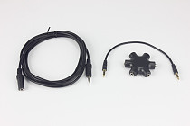 F10150-A 3.5mm Stereo Audio Headphone Splitter Cable Headset Hub Adapter Earphone Extension Cable for MP3/4Mobile DVD Pl