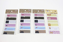 F05285-4 4Packs Korea stationery Small Fresh N times Stickers Note Paper Memo Pad
