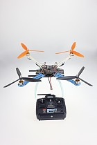 DIY Drone Multicopter Upgraded Full Kit S500-PCB 1045 3-Propeller 4Axis QuadCopter UFO RTF/ARF No Battery / Charger