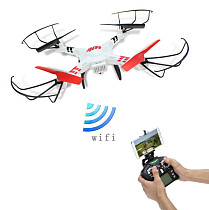 WLtoys V686K Wifi Video Real-time Phone FPV Quadcopter with Camera Headless Mode 2.4G 4CH 6-Axis Gyro RC Drone UFO RTF