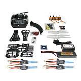 DIY RC Drone Quadrocopter Full Set X4M380L Frame Kit QQ Super AT9 TX RX F14893-J