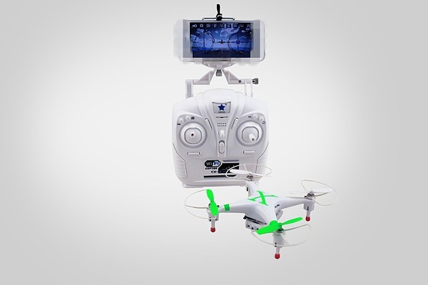CX-30W 4CH WIFI Real Time Video RC Quadcopter 6 Axis Gyro Camera With Transmitter RTF Cheerson