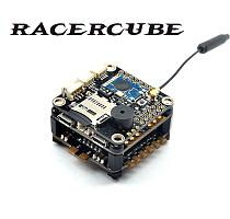 RacerCube F3 EVO Flight Controller Integrated PCB Board MWOSD 4in1 Littlebee 20A ESC Frsky 8CH PPM SBUS Receiver