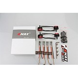 4pcs RS2205 2300KV/2600KV CCW Brushless Motor+4pcs Lightning 30A ESC Speed Controller for 200 250 FPV Racer RC Drone Qua