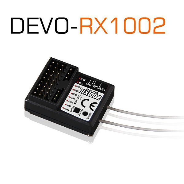 Walkera Devo RX1002 2.4G 10 channel 10ch Receiver compatible with DEVO 6 7 8 10 12 Transmitter