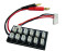 1 To 12 Cells 7.4V 2S Battery Parallel Charge Board For RC helicopter Airplane Lipo battery AKKU JST