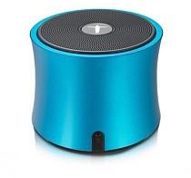 F12043 AbramTek Portable Wireless Speaker TF FM Radio Built in Mic MP3 Subwoofer Blue