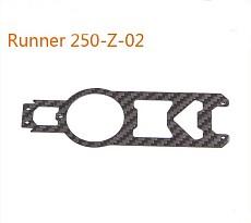 Original Walkera Runner 250 Spare parts Upper Main Board Runner 250-Z-02 Carbon Fiber Board