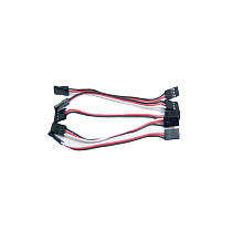5 pcs 10cm Servo Extension Lead Wire Cable MALE TO MALE KK MK MWC flight control Board For RC Quadcopter