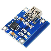 Battery Charging Board Battery Charger Charging Module for 1A Lithium Battery