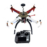 4-axis Aircraft RC Quadrocopter Helicopter ARF F450-V2 Frame GPS APM2.8 AT10 TX/RX No Battery