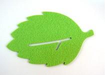 50pcs Creative Green Leaf Shape Coffee Tea Bar Cup Mat Pad Cup Coaster Cushion Decoration Protector
