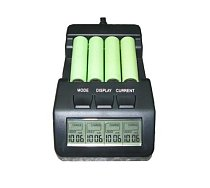 BM110 Intelligent Digital Battery Charger Tester LCD Multifunction for 4 AA AAA Rechargeable AKKU