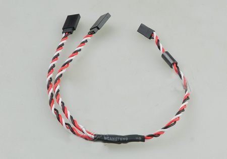 10pcs 600MM 60 pin Large Current Interference Y Line 60CM Twisted Cable with Magnetic fit for Futaba