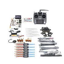 Full Set Hexacopter 6-axle Aircraft Kit HMF S550 Frame PXI PX4 Flight Control 920KV Motor GPS AT10 Transmitter Props