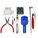 Deluxe 16 Pcs Watch Case Opener Band Pin Remover Repair Wrist Strap Adjust Removal Tools kit