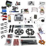 Full Set 6-axis Aircraft Kit Helicopter Tarot 680PRO Frame APM 2.8 Flight Control AT10 Transmitter with FPV function