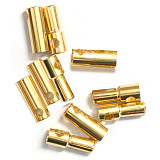 JMT 2mm 3.5mm 4mm 5mm 5.5mm 6mm 8mm Gold Bullet Banana Connector plug male and female Thick Gold Plated for ESC Battery