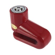 Generic Scooter Bike Bicycle Motorcycle Safety Anti-theft Disk Disc Brake Rotor Lock Color Red