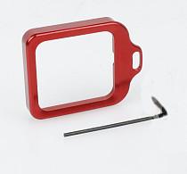 CNC Aluminum Lanyard Ring Lens Mount Set Red for Gopro Hero3+ Hero 3 Plus GITUP GIT1 GIT2