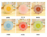 Beautiful Vintage Hollow out Lace Silicon Coffee Tea Bar Cup Mat Pad Coaster Cushion Decoration Protector