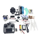 Full Set RC Drone Quadrocopter 4-axis Aircraft Kit 500mm Multi-Rotor Air Frame 6M GPS APM2.8 Flight Control 2axis Gimbal