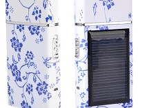1pc Men's Multifunctional Solar Home Power Rechargable Electric Razor Shaver