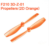 1 Pairs Walkera F210 3D Edition Racing Drone Spare Part F210 3D-Z-01 Propeller CW CCW for 2D Flight