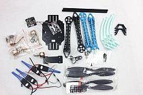 500mm Multi-Rotor Air Frame Kit S500 w/ Landing Gear+ESC+Propellers+Motor+KK XCOPTER V2.9 Board