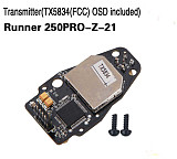 Walkera Transmitter TX5834 FCC OSD Included Runner 250PRO-Z-21 for Walkera Runner 250 PRO GPS Racer Drone RC Quadcopter