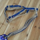1 Piece Pet Products Supply Cowboy Cloth Pet Harness Chest Straps Dogs Harness Leash 1.5/121cm