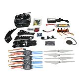 DIY RC Drone Quadrocopter Full Set X4M380L Frame Kit APM 2.8 GPS AT9 TX F14893-M