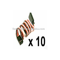 10pcs/1Lot 150MM 15CM Servo Extension Wire Cable Cord For Futaba JR ESKY Wfly
