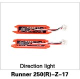 Walkera Runner 250 Advanced Quadcopter Spare Parts Turn Lights Indicators 2 Pcs Runner 250(R)-Z-17