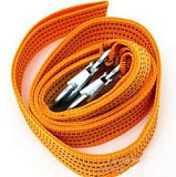 S00923 Powerful 3M 3Tons Tow Cable Tow Strap Towing Rope with Hooks for Universal Heavy Duty Car Emergency