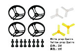 1.9 Inch Propeller Prop Guard Protector Bumper All Surround with 4 pairs 1935 Propeller