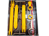 Multifunctional Radio Door Clip Panel Trim Dash Audio Removal Pry Tool Kit disassembly refit DIY tool