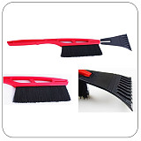 S00405 1 Piece Long-handled Shovel Car Snow Shovel Removal Defrost / Snow / Ice Clean Tool with a Brush