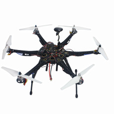 Assembled Full Set Drone RC RTF HMF S550 Frame GPS APM2.8 Flight Control with Compass AT10 TX/RX
