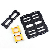 Tarot Battery Holder Group Dual Mount Carbon Fiber Dia 25mm TL80B05 For Multicopter