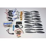F02015-G 6 Axis Foldable Rack RC Quadcopter Kit APM2.8 Flight Control Board+GPS+1000KV Brushless Motor+10x4.7 Propeller+