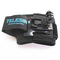 TELESIN 360degree Adjustable Waist Belts Mount Strap for Gopro Hero 4 3+ Xiaomi Yi Action Camera Sporting Ski Diving Sur