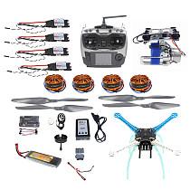 High-powered DIY GPS Drone APM GPS M8N 700KV 30A 4400MAH 30C 4-Axis Aircraft Racer with Camera Gimbal PTZ