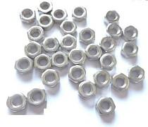 100pcs/lot M3 Screw Nut Hex nuts 3mm For Coupler/Motor Mount/Servo Bracket/Robot Car chassis