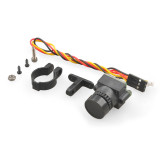 HD 1000TVL Mini FPV Camera Lens 2.8mm 3MP PAL/NTSC Switchable w/ Angle Adjustable Holder for DIY RC Racing Drone 250 210